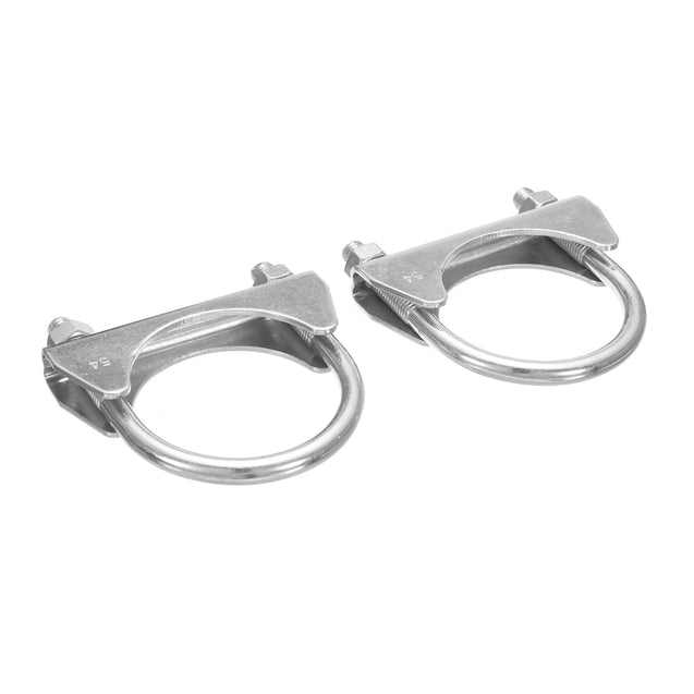2 Inch x 8 Inch Car Tools Exhaust Clamp On Flexi Tube Joint Flexible Pipe Repairtools