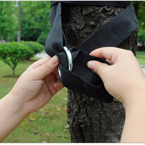 1.6M Outdoor Hammock Hanging Strap Polyester Swing Bandage Extension Rope String