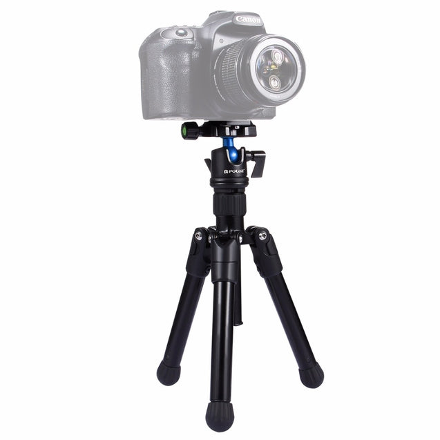 PULUZ PU3001 Mini Pocket Tripod Monopod Holder 360 Degree Ball Head for DSLR Camera Camcorder