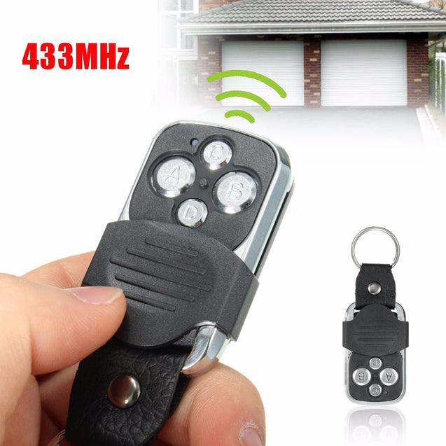 HFY408 Universal 4 Buttons Cloning 433MHz Electric Garage Door Remote Control Key Fob