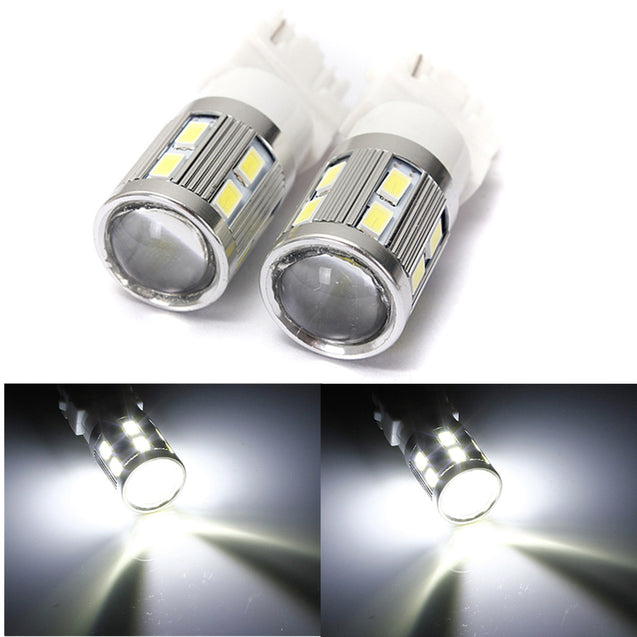 6000K White Daytime Running Projector 5630 Chip SMD LED Bulbs
