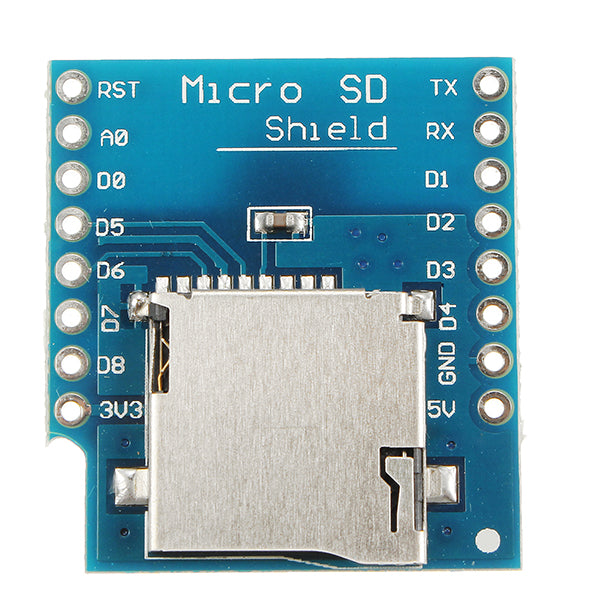 5Pcs WeMos Micro SD Card Shield For WeMos D1 Mini TF WiFi ESP8266 Compatible SD Wireless Module