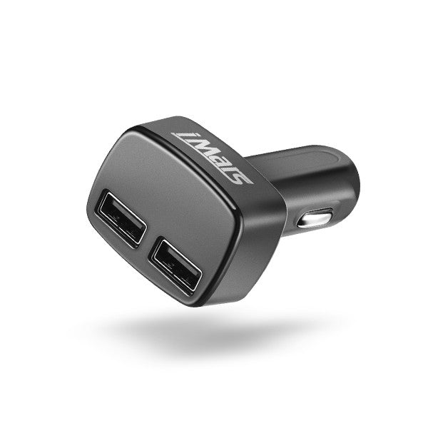 iMars iM-C2 4 in 1 Dual USB Car Charger Adapter 5V 3.1A Bullet Car Charger for Cell Phone iPhone
