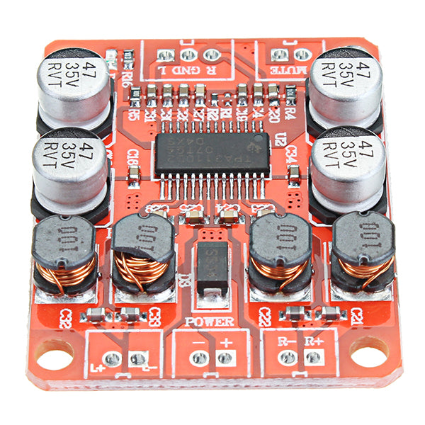 3pcs TPA3110 DC 12V 24V 2x15W Dual Channel Stereo Digital Amplifier Board For 4/6/8/10 Ohm Speaker