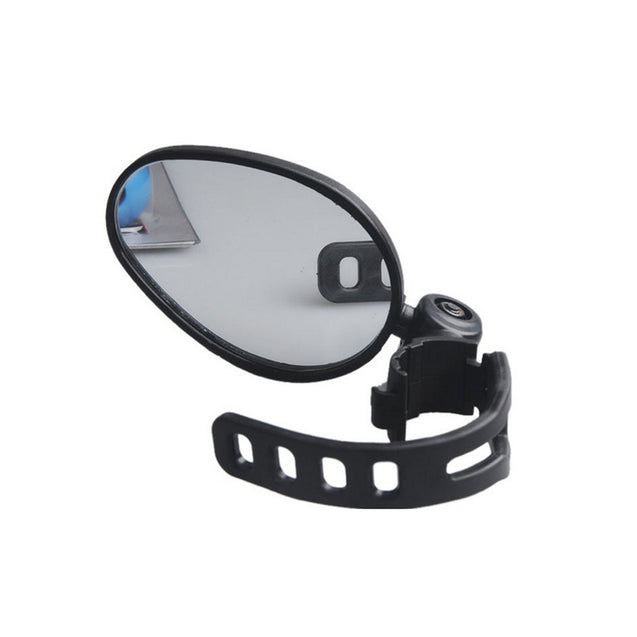 BIKIGHT Bike Bicycle Mirror Easy Install 360 Rotation Handlebar Safety Mirror Cycling MTB Road Bike