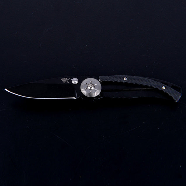 Sanrenmu 156mm Stainless Steel Mini Folding Knife Multifunction Outdoor knife Camping Fishing Knife