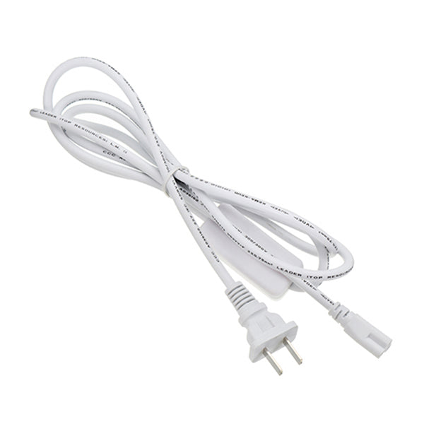 T8 1.8m Tube Light Connect Wire With Switch Accessories
