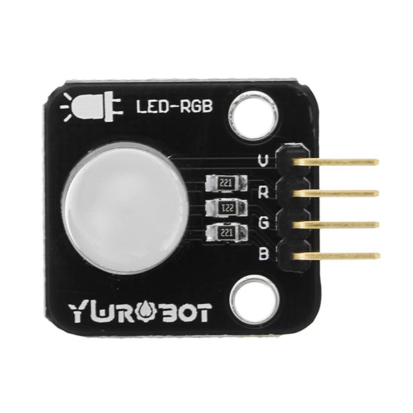 5Pcs Full Color LED Module 10mm Bright RGB Board Electronic Building Blocks For Arduino