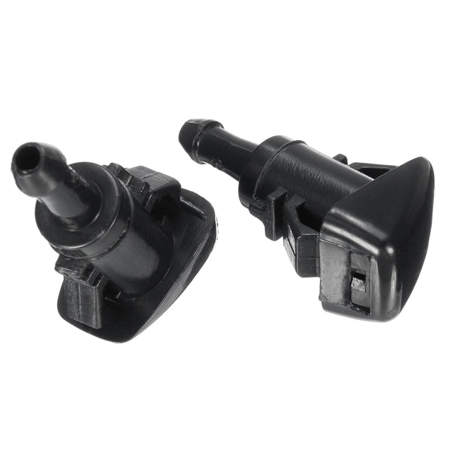2x Windshield Wiper Water Nozzle Spray For Chrysler Dodge Jeep Ram Dorman 47186
