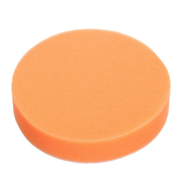 5pcs 5inch Polishing Pad Set Waxing Disc Wave Sponge Drill Adapter Wool Ball