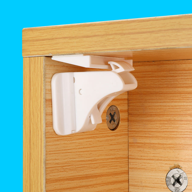 5 in 1 Magnetic Child Lock Baby Safety Lock Baby Protection Cabinet Door Lock Kids Drawer Locker