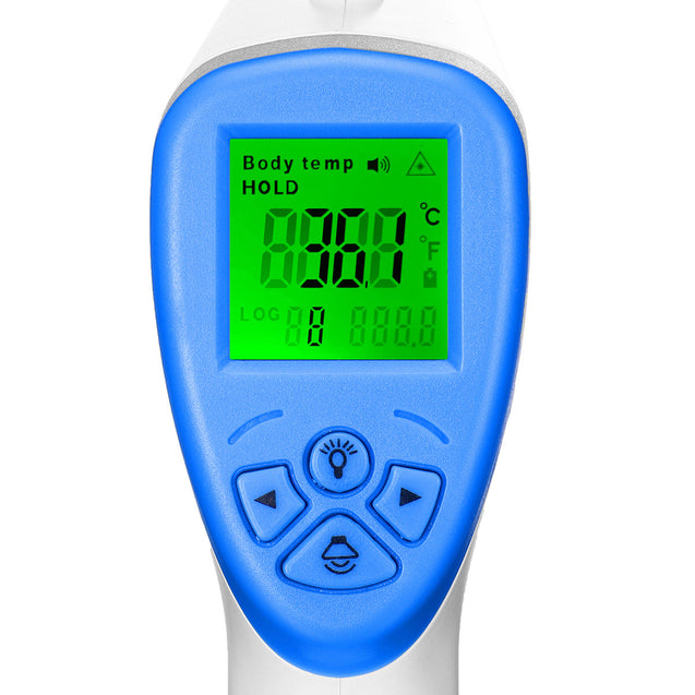 Non Contact Forehead Thermometer Digital Infrared Thermometer Temporal Device w/ Backlight LCD Display