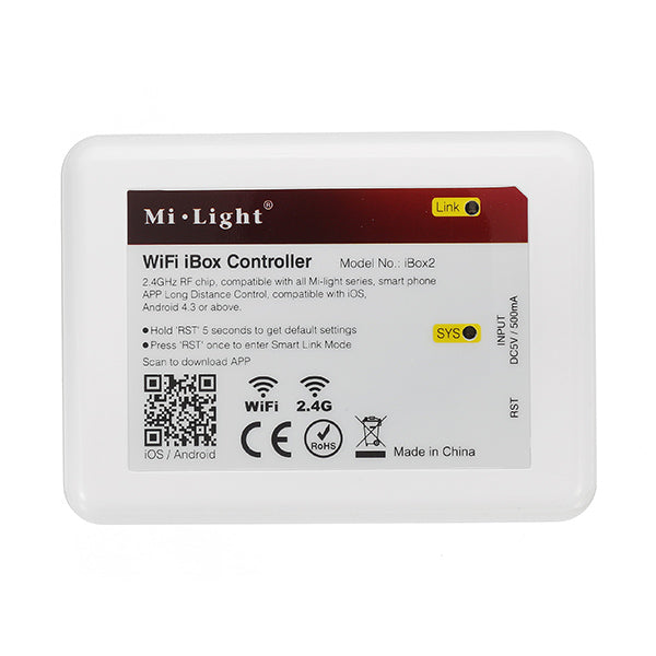 Mi Light 2.4G DC5V 500mA LED WIFI Controller For IOS Android