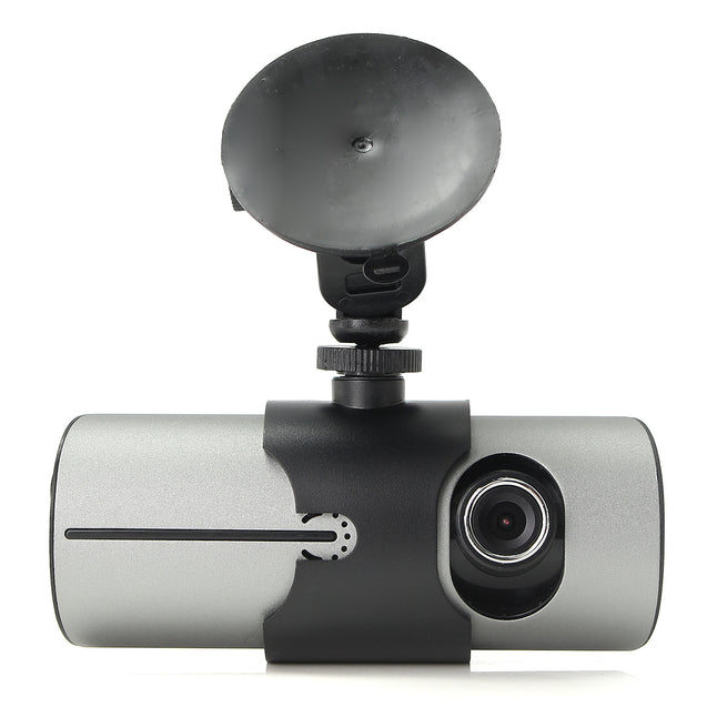 GPS Dual Lens Camera HD Car DVR Dash Cam Video Recorder G-Sensor Night Vision