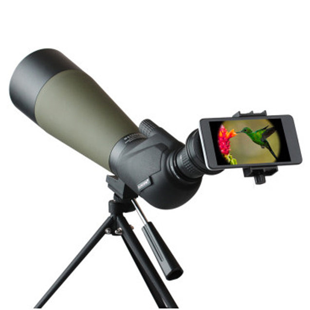 IPRee 20-60X80A HD BAK4 Monocular Waterproof Telescope For Bird Watching Outdoor Spotting Scope