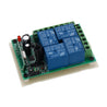 315MHz 12V 4 Channel RF Wireless Remote Control Switch Relay with Shell