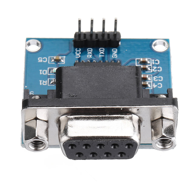 10pcs RS232 to TTL Serial Port Converter Module DB9 Connector MAX3232 Serial Module