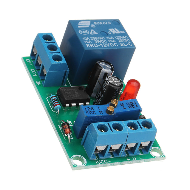 3pcs DC 12V Battery Charging Control Board Intelligent Charger Power Control Module Automatic Switch