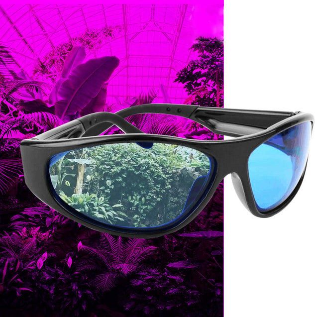 Grow Light Plant Room Tent Glasses Anti UV Protection Eyewear Indoor Greenhouse Hydroponics Goggles