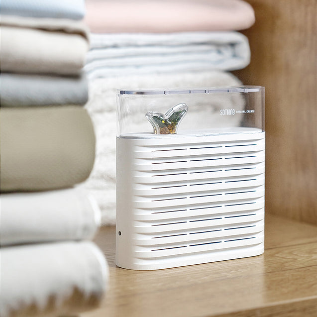 XIAOMI SOTHING Portable Plant Air Dehumidifier 150ml Rechargeable Reuse Air Dryer Moisture Absorber
