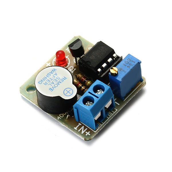 5Pcs 9V 12V Battery Sound and Light Alarm Protection Module Against Over-discharge Board