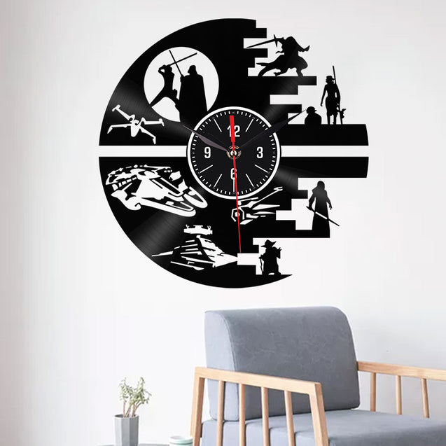 Emoyo EHJ94 Creative Wall Clock 3D Wall Clock Quartz Wall Clock For Home Office Decorations