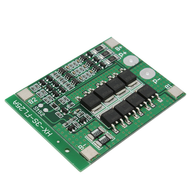 50pcs 3S 11.1V 25A 18650 Li-ion Lithium Battery BMS Protection PCB Board With Balance Function