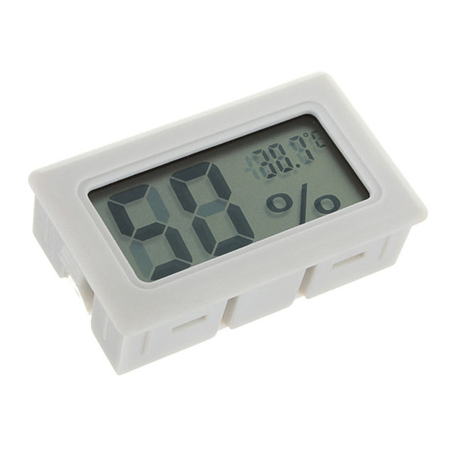 5pcs Mini LCD Digital Thermometer Humidity Meter Gauge Hygrometer Indoor