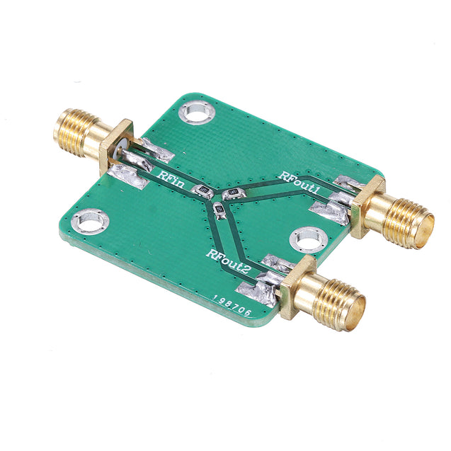 RF Power Splitter RF Microwave Resistance Power Divider Splitter 1 to 2 Combiner SMA DC-5GHz Radio Frequency Divider