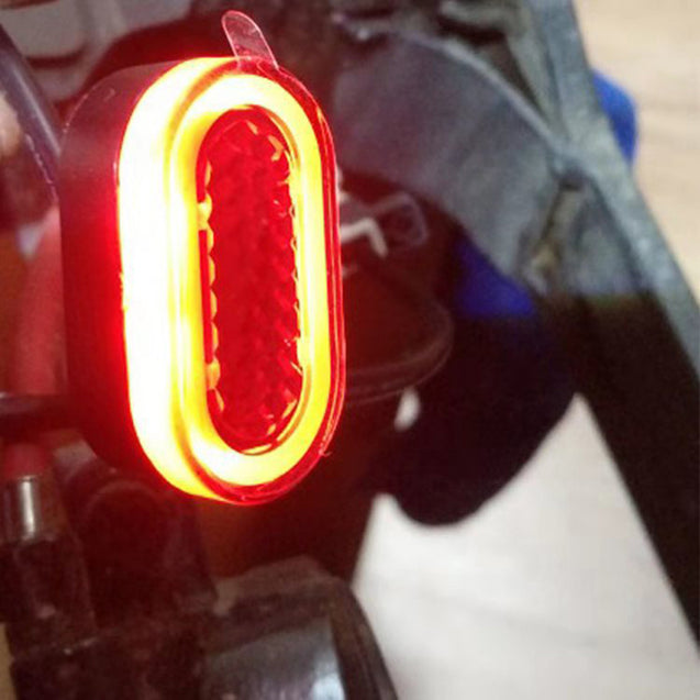 BIKIGHT Electric Scooter Fender Warning Light Xiaomi M365 Scooter Skateboard Bike Bicycle Cycling