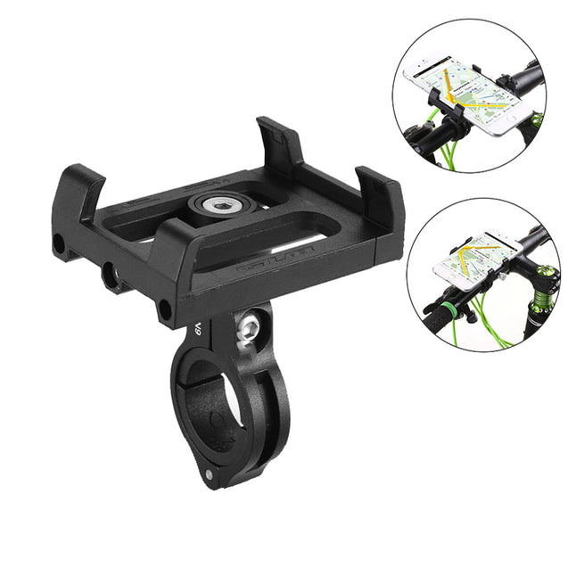 GUB PLUS 3 Rotating 3.5-6.2 Inch MTB Bicycle Handlebar Phone Holder Motorcycle GPS Mount Support