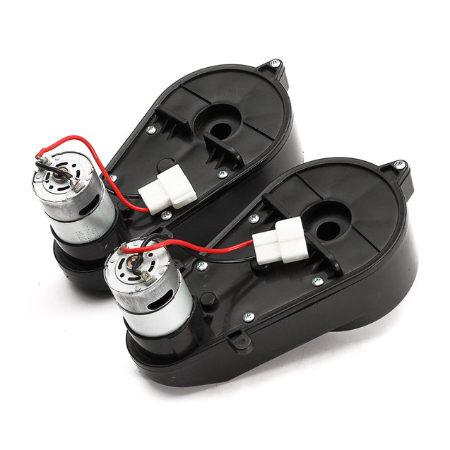 12V 23000RPM Electric Motor Gear Box For Kids Ride Car Toys Spare Part
