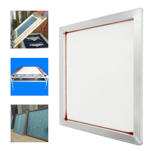 24''x20'' Aluminum Silk Screen Printing Press Screens Frame with 160 Mesh Count