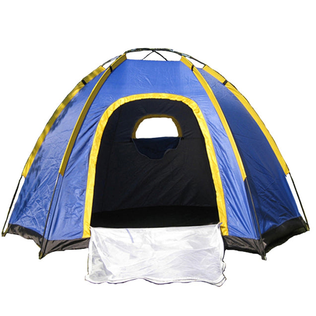 Outdoor 3-4 People Camping Tent Instant Pop-up Waterproof Large Family UV Sunshade Canopy