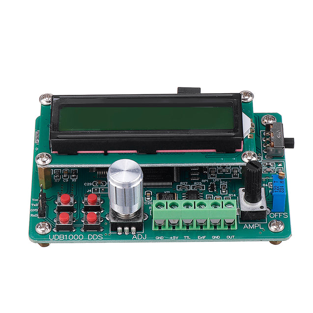 2MHz UDB1002S DDS Signal Generator LCD1602 Sweep Function Source Sine  Square Triangle Sawtooth Wave