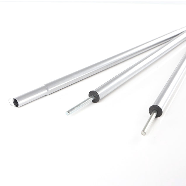 Hewolf 1.5M Iron Tent Pole Awning Rod Stand Camping Accessories Extending Door Frame