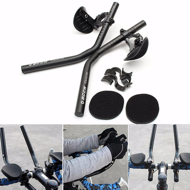 BIKIGHT Road Mountain Bike Bicycle Alloy Triathlon ResT-Handlebar Handlebar