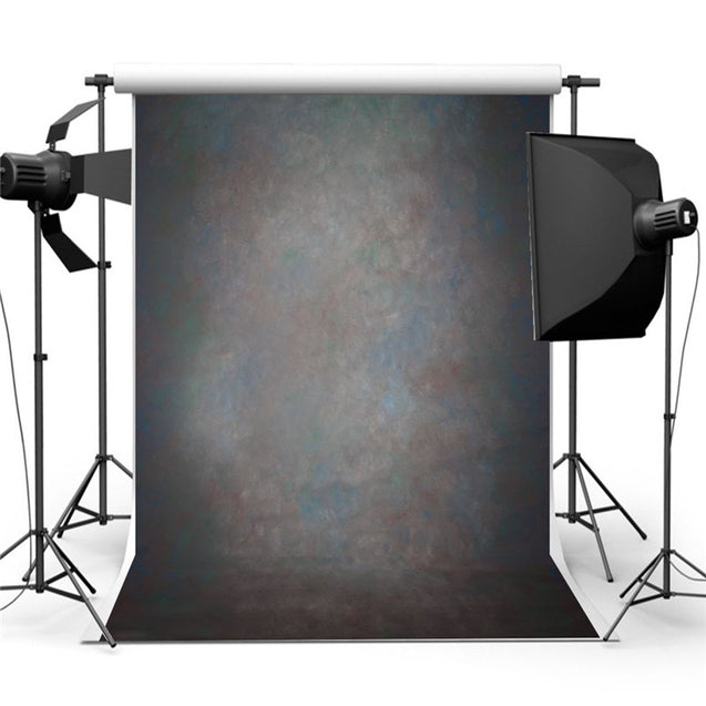 5x7ft Retro Black Abstract Backdrop Studio Photography Photo Background Props