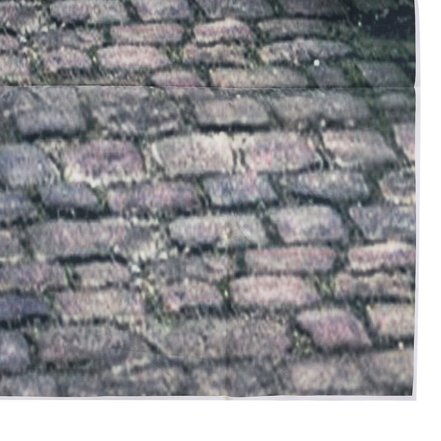 8x8FT City Street Cobbled Road Photography Backdrop Background Studio Prop
