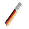 3.9 Inch Car Sticker Germany Flag Fender Trunk Emblem Badge Decor For Audi
