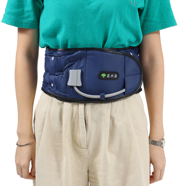 Inflatable Lumbar Support Waist Belt Fitness Sports Correction Belt With Traction Device
