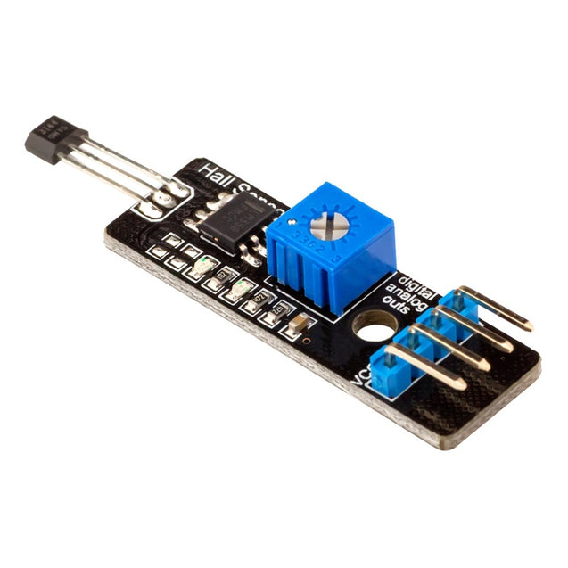 Hall Effect Magnetic Sensor with Analog & Digital Output Module