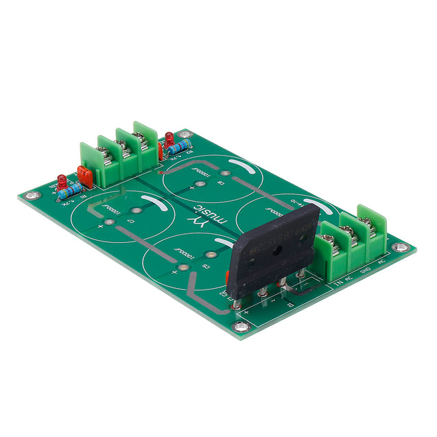 Dual Power Supply Module Rectifier Filter Bare Board For Amplifier Speaker Audio Module