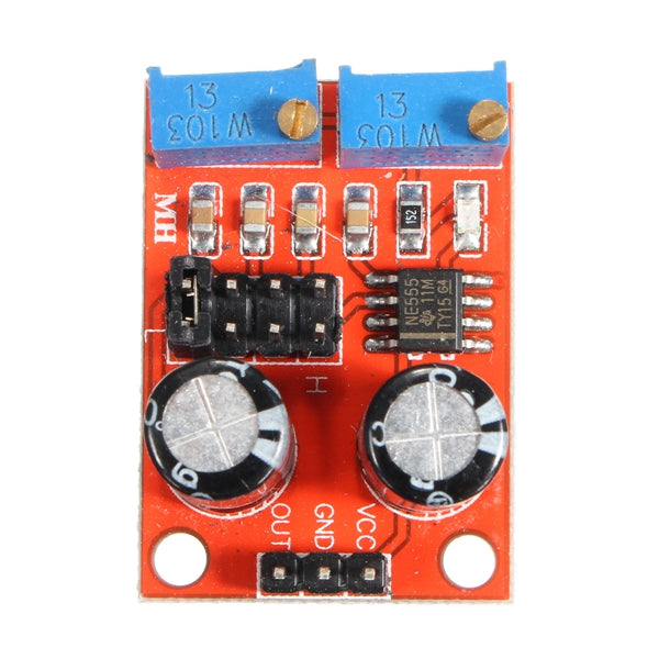 3pcs NE555 Pulse Frequency Duty Cycle Adjustable Module Rectangular Wave Signal Generator