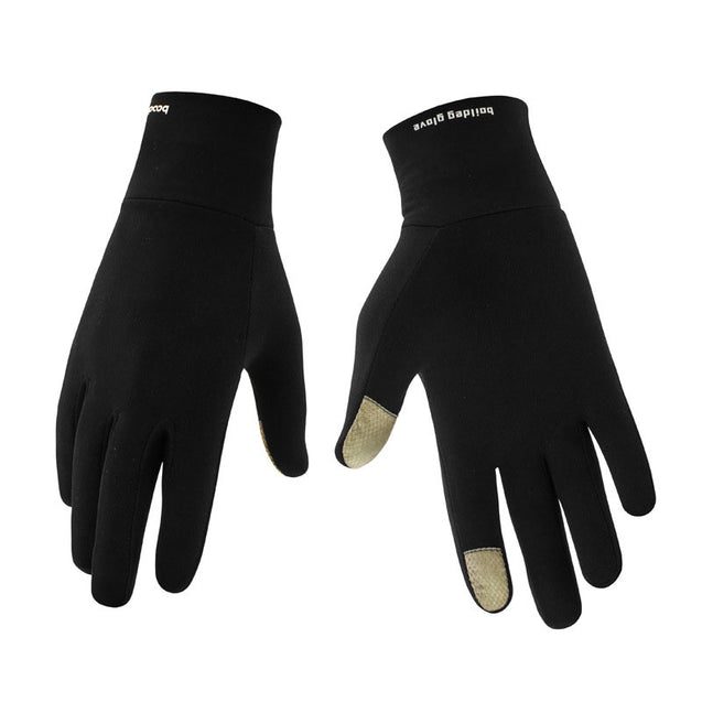 BIKIGHT Autumn And Winter Outdoor Sports Climbing Gloves Smatr Touch Warm Fitness Cycling Gloves