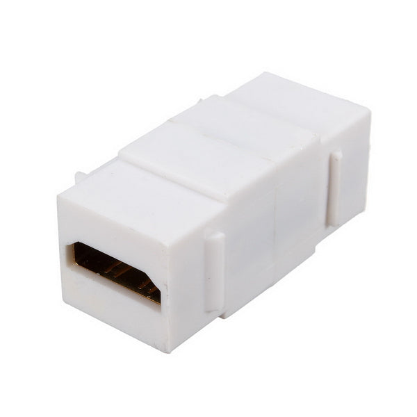 High Definition Multimedia Interface Keystone Insert Coupler Wall Plate Adapter Female To Female