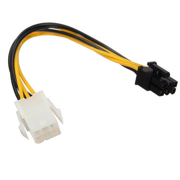 Power Cable Extension 6pin to 6pin PCIe Power Cable for Video Card