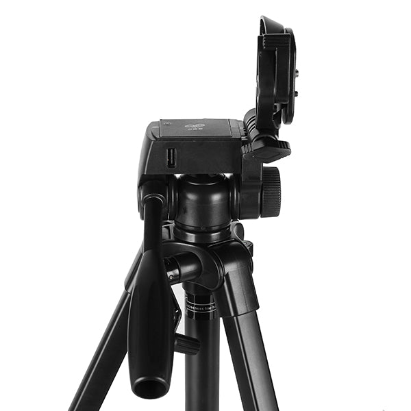 Yingnuo DY-568 152CM Foldable Alluminium Alloy Tripod with Power Bank LED Light