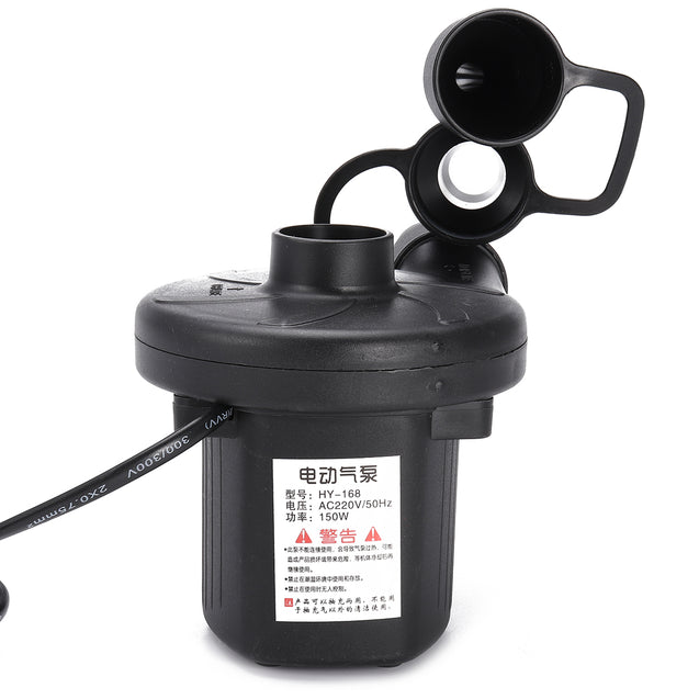 AC 220V Electric Air Pump For Inflatable Air Track Mattress Pad Bed Pool Boat Toy
