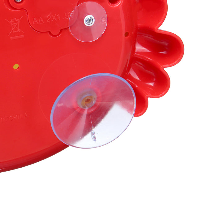 24 Music Baby Tub Crab Automatic Bubble Blower Bubble Maker Machine Song Bath Toy Gift